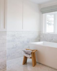 A Luxe and Spa-Like Bathroom for Less: Online Sources for Discount Designer Marble Tile Screen Shot Bathrooms Remodel, Marble Bathroom, Spa Like Bathroom, Bathroom Interior Design, Marble Bathroom Floor, Bathroom Decor, Rustic Bathroom Shelves, Cottage Kitchen Cabinets, Bathroom Flooring