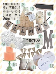 DIY Wedding ideas