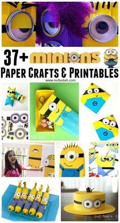 37+ Minion Paper Cra
