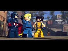 """LEGO Marvel Super Heroes Official E3 Trailer: """"He's ever after only one thing, power. And also helmets with horns. He's really into those."""" YES!"""