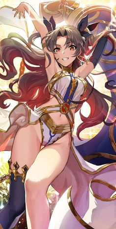 Fate Grand Order, Rin (Ishtar), by Baby Doll