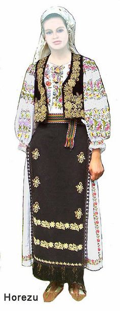 shoe has tongue for lacing. Traditional Fashion, Traditional Dresses, Historical Costume, Historical Clothing, Folk Costume, Costumes, Romanian Girls, Hippy Chic, International Fashion