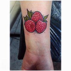 Raspberry tattoo