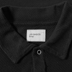 Les Basics continues to elevate menswear staples this season, following on from its launch in 2016. With ideas conceived in London and products produced in Portugal, this brands offering is executed with distinction and desirability. The Le Long Sleeve Polo is cut from a textured cotton and is styled simply with silver toned press stud fastenings to its collar and ribbed knits to its sleeve cuffs. 100% Cotton Textured Mesh Fabric Silver Toned Press Stud Fastenings Ribbed Cuffs Made in…