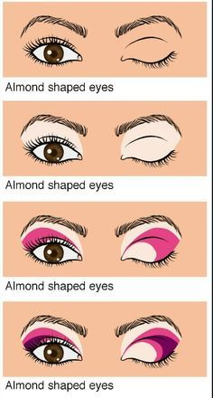 how to do makeup for brown almond shaped eyes - Google Search