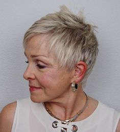 Neat Short Feathered Pixie