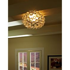 """Modway Halo 12"""" Ceiling Fixture in Clear"""