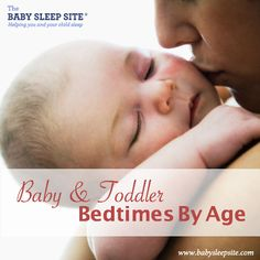 Baby and Toddler Bedtimes By Age - A Reference Chart I've actually been getting these emails since Elizabeth was a baby and they are always so helpful!