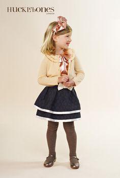 Hucklebones - navy skirt