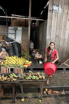 Fruit Stand, Iquitos, Peru