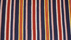 The tradition of Estonian woolen weave; colours and pattern from Põlva Parish.