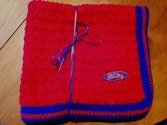 Ole Miss Baby Carrier Blanket by CreativeNeedlesnHook on Etsy