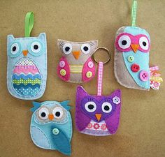 Sew Your Own Owls Kit ....  Want To Make For My Little Girl....   Love....