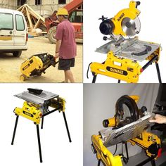 """367 Likes, 31 Comments - Construction & Tools (@krugerconstruction) on Instagram: """"Check this out! It's the Dewalt Flip Saw. One side chop saw, one side table saw.  Sorry it doesn't…"""""""