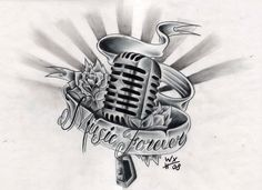Music Tattoo Designs | MadSCAR