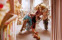 """L'Air Du Temps"" : Guinevere Van Seenus : Vogue UK April 2011 : Javier Vallhonrat Vogue Uk, Fashion Photography Inspiration, Photoshoot Inspiration, Fashion Inspiration, Fashion Shoot, Editorial Fashion, Guinevere Van Seenus, New Paris, Costume Institute"