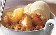 Celtic apple crumble with Irish whiskey cream sauce. This decadent recipe uses tart apples, Irish whiskey and Kerrygold butter.