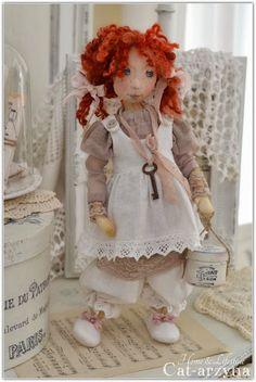 lovely cloth doll