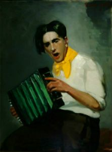 The Player: 1926 by George Luks (Arkell Museum, Canajoharie)