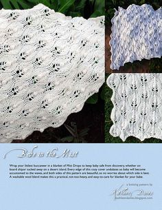 Items similar to Babe in the Mist baby blanket pattern PDF on Etsy Cozy Cover, Winter Project, Baby Knitting, Knitted Baby, Baby Safe, Mists, Ravelry, Knitting Patterns, Baby Kids