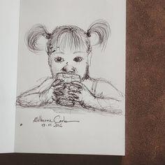 """66 curtidas, 1 comentários - Autoria: @altillierme_carlo (@desenhos_do_alti) no Instagram: """"Keep Calm and Drink Milk  Dia 323... #desenhosdoalti #desenhos #sketch #sketchers #sketchbook #art…"""""""
