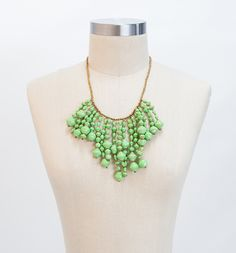 Dazzle your way through spring with this Razzle Dazzle statement necklace! 31bits.com #FASHIONFORGOOD
