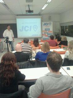 Explaining what's JCI - Start training
