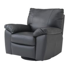 VRETA Swivel/reclining/armchair IKEA Soft, durable and easy care leather which is practical for families with children.