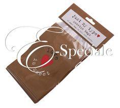 E-speciale Bustine Confettata Love is Sweet (conf. 25pz) - Prodotti per Matrimonio - Addobbi Cerimonia - Coni e Sacchetti - accessori e gadget per matrimoni e feste - E-speciale