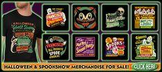 Spookshows.com - Vintage Halloween Favorite Holiday, Holiday Fun, Vintage Halloween Decorations, Halloween Ideas, Screen House, Simple Blog, Wheel Of Fortune, Vintage Party
