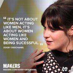 Zooey Deschanel loves proving people wrong and defying expectations. Her words of inspiration to MAKERS: http://aol.it/1tS7Oog