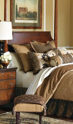 Eastern Accents #bedroom #bedding