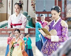 "Oh Yeon Seo luciendo hermosa en vestido tradicional para ""My Sassy Girl"" Korean Hanbok, Korean Dress, Korean Outfits, Oh Yeon Seo, Korean Traditional Dress, Traditional Dresses, Korean Actresses, Korean Actors, My Sassy Girl"