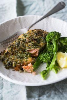 Gremolata-crusted Salmon