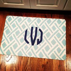 Not organization but it will keep your house cleaner. Design your own doormat and other things. How cool is that.