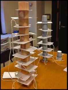 Inertia towers prepared for activity