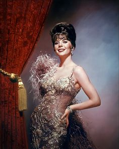 """Natalie Wood in """"Gypsy"""" - 1962 - '.......And We'll Have a Real Good Time, Yes Sir - and We'll Have A Real Good Time.'"""