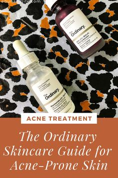 Are you struggling with acne, blackheads or hyperpigmentation that never goes away? Try The Ordinary Guide for Acne Prone Skin. #theordinary #acnetreatment #skincareproductsthatwork #acnescars Skincare For Oily Skin, Drugstore Skincare, The Ordinary Skincare Guide, Dry Acne Prone Skin, Skin Routine, Skincare Routine, Tea Tree Oil For Acne, Beauty Tips, Beauty Secrets