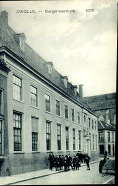 Broerenstraat 11, ca. 1915.