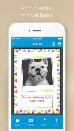Print your own greeting cards at home! Learn how from @myprintly. #HPCreate