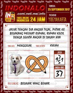 Colok 5D Togel Wap Online Indonalo Yogyakarta 25 September 2017
