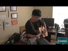 "Young Artist's Showcase: James's Original Song # 1. My first original ""Heels Over Head"""