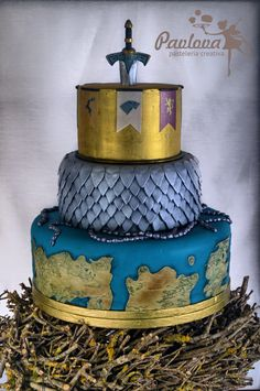Game of Thrones Cake Juego de Tronos