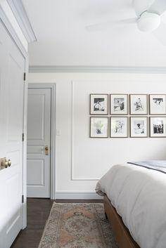 Tips + Tricks Tuesday- Master Bedroom Ideas l Home Staging & Design l Portland, Lake Oswego & Hillsboro White Bedroom Design, Blue Bedroom, Bedroom Decor, Bedroom Ideas, Grey Interior Doors, Grey Doors, Interior Door Colors, Interior Door Styles, Interior Trim