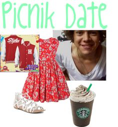 """""""Picnik Date With Harry #76"""" by sarastyles1d ❤ liked on Polyvore"""