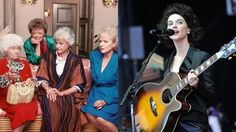 St. Vincent releases eerie cover of the 'Golden Girls' theme song Image: mashable composite. nbc. steve jennings/getty.  By Tricia Gilbride2016-07-12 19:24:55 UTC  In this crazy world its nice to know theres one thing that will always be there for you: your best friend the infinite void.  So naturally the quirky songstress St. Vincent turned the cheery Golden Girls theme song into a haunting dirge devoid of lyrics vocals and hope.  Her version is perfect background music for when you need to…