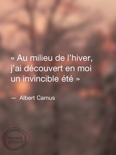 by Albert Camus, Albert Camus, The Words, Cool Words, Words Quotes, Life Quotes, Sayings, Favorite Quotes, Best Quotes, Positiv Quotes