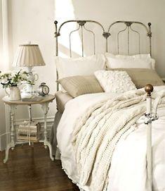 white white bedroom..