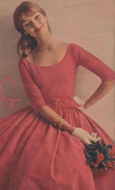 Dolores Hawkins Logan ad 50s