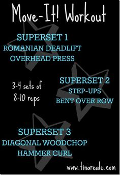 Move It Workout by @Tina Reale